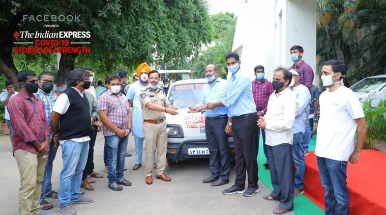 Team of IT professionals in Hyderabad who take care of victims' final journey