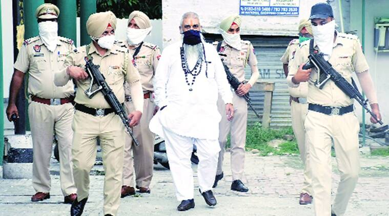 5 hate speech cases against him, 15 cops guard this right wing leader