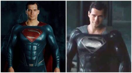 snyder cut, black superman suit, superman snyder cut