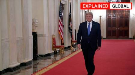 Donald trump, US election delay, can Trump delay US elections, mail-in voting US, US election dates, express explained, indian express