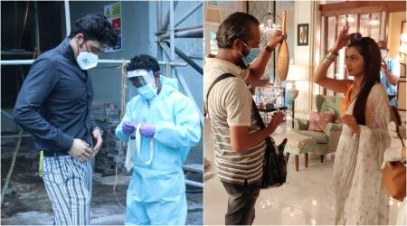 tv actors resume shoot
