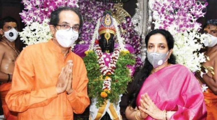 Uddhav Thackeray visits Pandharpur temple, prays for a 'miracle'