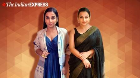 vidya balan, vidya balan photos, shakuntala devi promotions, vidya balan photos, shakuntala devi promotions, indian express, indian express news