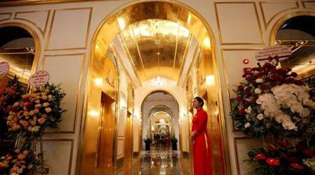 vietnam gold plated hotel