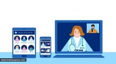 coronavirus patients, Telemedicine service, virtual healthcare, Pune news, Indian express news