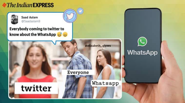whatsapp, whatsapp down, whatsapp outage, whatsapp down in india, whatsapp down memes, whatsapp outage twitter memes, viral news, tech news, indian express