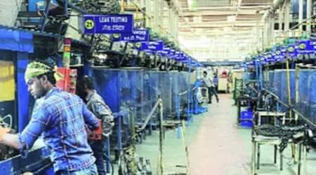 ministry of defence, Ordnance Factory Board, worker federation meeting, worker federation strike, Bharatiya Mazdoor Sangh, indian express news