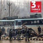 Pulwama attack blast site