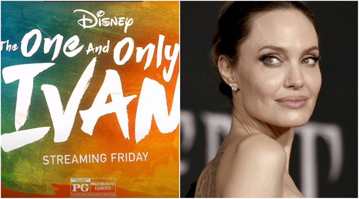 the one and only ivan starring angelina jolie