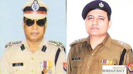 DIG-rank officers suspended, UP Special Task Force, Lucknow news, UP news, Indian express news