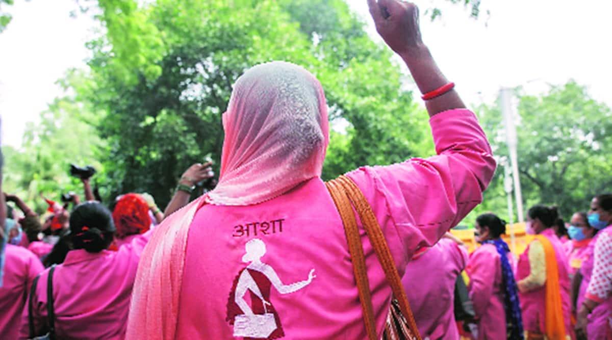 Citing 'nirasha' at govt attitude, ASHAs in Punjab stir up agitation