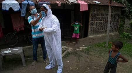 Assam coronavirus cases, assam deaths, Assam covid tests, Assam news, Assam government, Himanta Biswa Sharma, Indian express