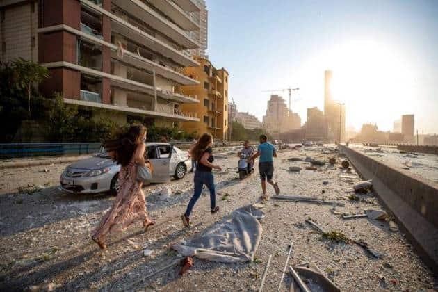 Lebanon blast, Beirut blast, Lebanon explosion, Beirut explosion, beirut blast news, blast in Beirut, Beirut blast pictures, Lebanon blast photos