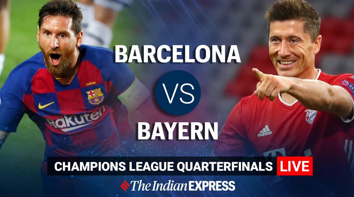 uefa champions league 2020 highlights bayern maul barcelona 8 2 to reach semis sports news the indian express uefa champions league 2020 highlights
