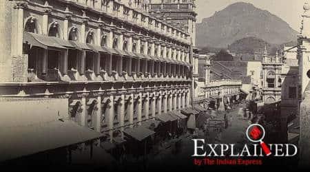 pakistan, pakistan new map, pakistan map Junagadh, junagadh history, junagadh pakistan plebiscite, indian express explained, explained news