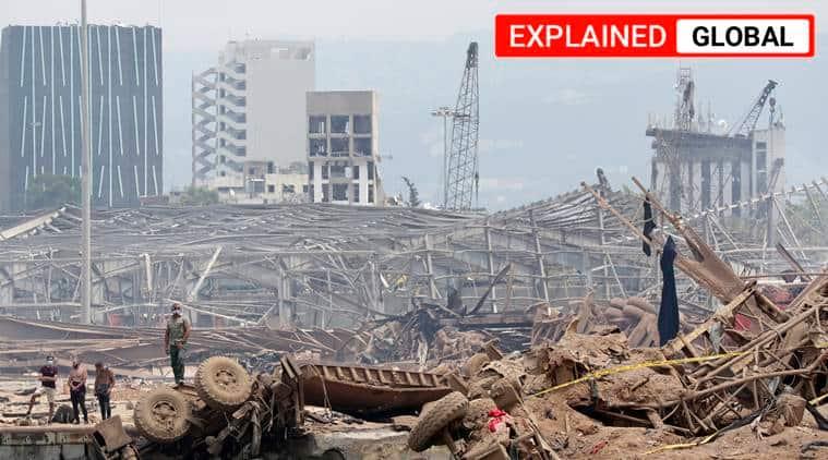 Beirut, Beirut explosion, Beirut blast, Beirut news, Beirut videos, Beirut footage, Indian Express
