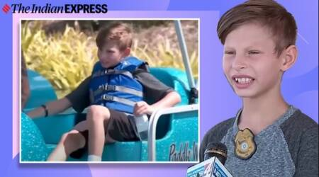 Oklahoma, Adoption, 9-year-old, Foster homes, Boy's plea for family, Adoption plea interview, Viral video, Trending, Indian Express news