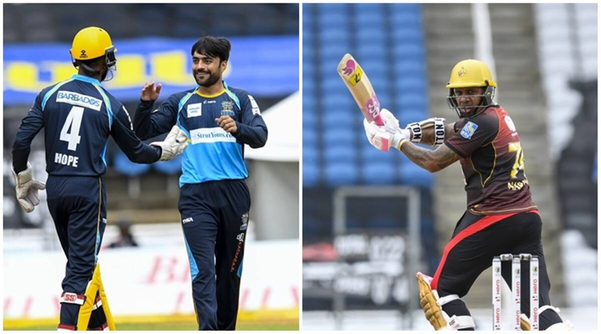 CPL 2020, TKR vs BT Live Highlights: Trinbago Knight Riders thump Barbados Tridents - The Indian Express