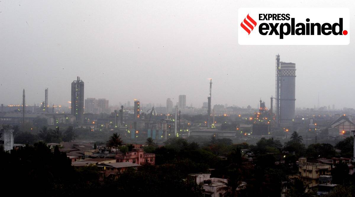 mumbai, mumbai news, mumbai air pollution, chembur air pollution, NGT order on air pollution, Sea Lord Containers Limited case, Aegis Logistics Limited, Indian Express