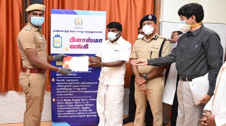 Chennai Police, COVID-19, Plasma Donation, Chennai