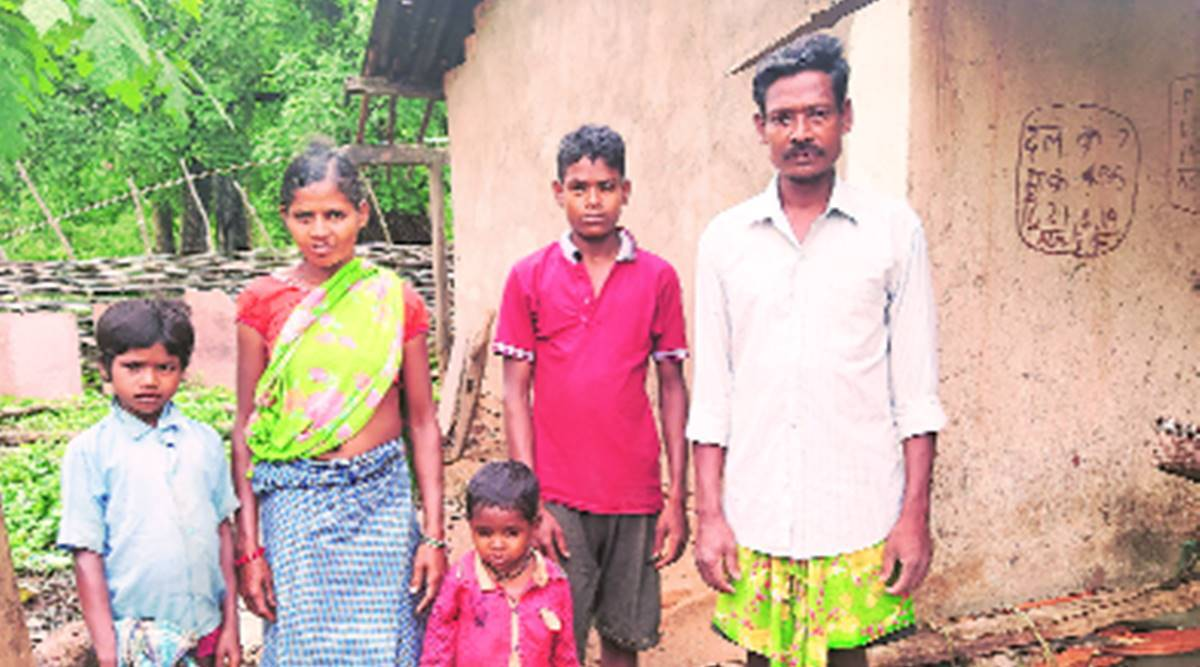 Month after girl died walking, village has PDS, kin bank accounts