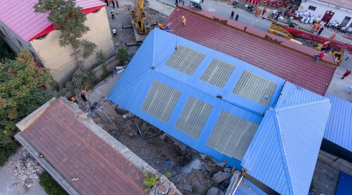 29 killed as restaurant collapses in China during birthday party