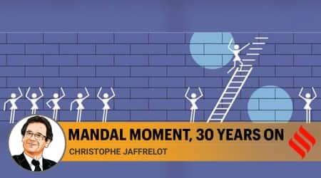 mandal commission, mandal commission 1990, hindutva, hindutva politics, reservation system in india, Christophe Jaffrelot writes, indian express Opinion