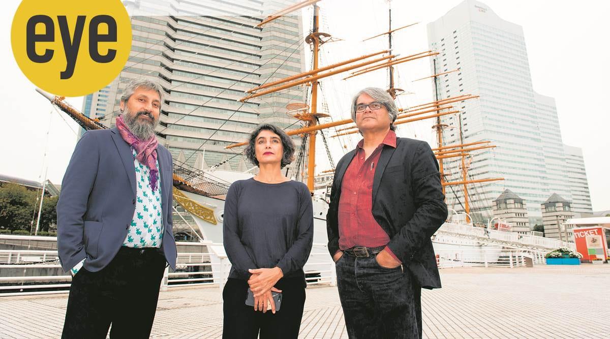 Raqs Media Collective, Yokohama Triennale, art, eye 2020, sunday eye, indian express news
