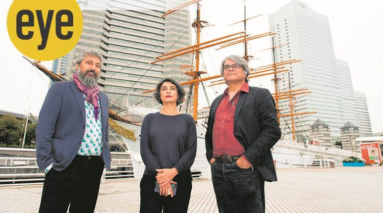Raqs Media Collective, Yokohama Triennale, art, eye 2020, sunday eye, indian express news
