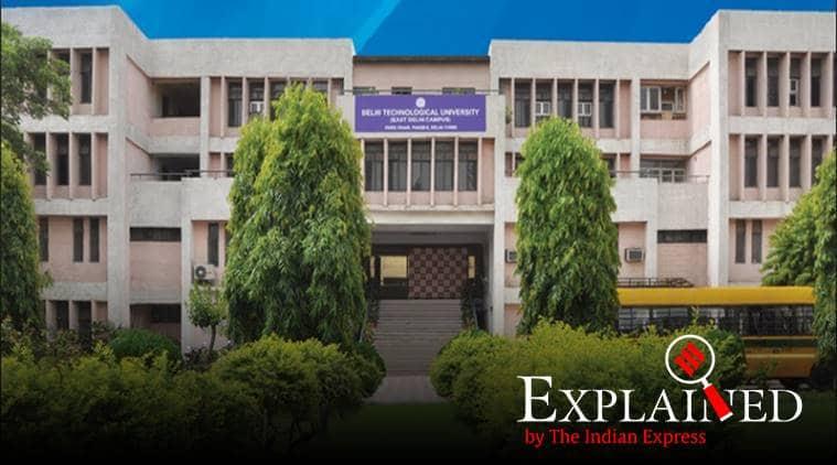 DTU, delhi technological university, DTU fee, dtu fee hike, dtu students protest, dtu fee hike protest, indian express, express explained