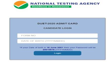 duet admit card, duet admit card download 2020, delhi university admission, du admissions 2020, delhi university, education news