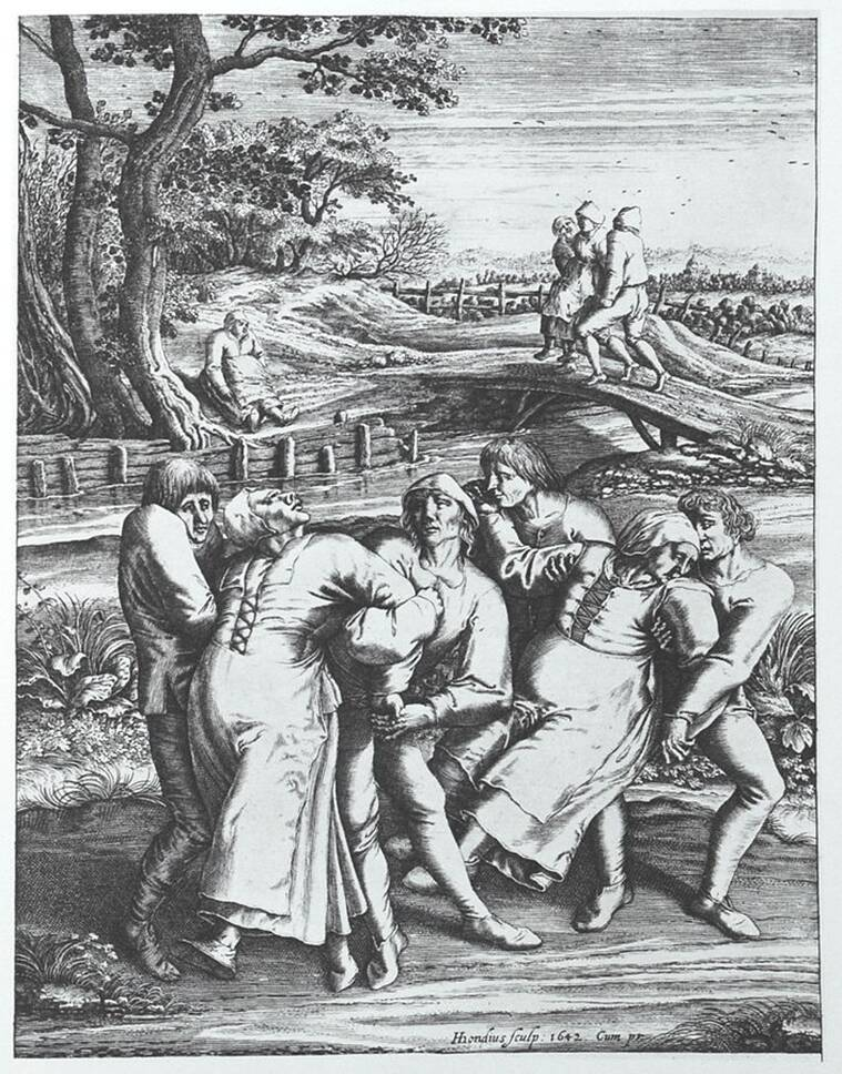 Dancing plague, Dancing plague of 1518, dancing plague cause, dancing plague virus, dancing plague mystery, dancing mania photos, dancing mania rhineland, dancing mania mystery, dancing epidemic, epidemic news, what is the dancing plague, what the dancing plague of 1518, europe epidemic, mass hysteria, psychogenic disease, psychogenic disease and cultural bound syndrome,express research