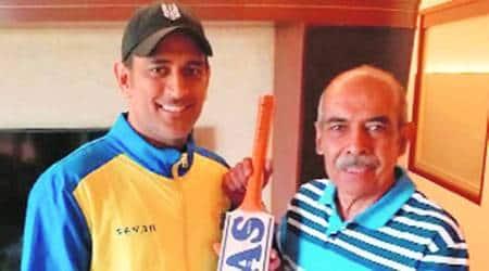 dhoni retirement, m s dhoni, dhoni, dhoni's first cricket kit, dhoni ranchi, dhoni cricket life, chandigarh city news