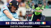 England vs Ireland 2nd ODI