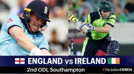 LIVE | England vs Ireland, 2nd ODI