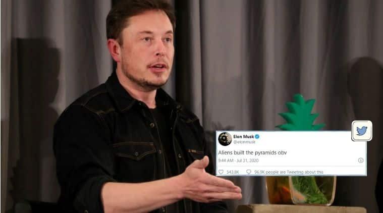 Elon Musk, Egypt, Pyramids, Aliens, SpaceX, Tesla, Egyptian pyramids, Trending news, Indian Express news