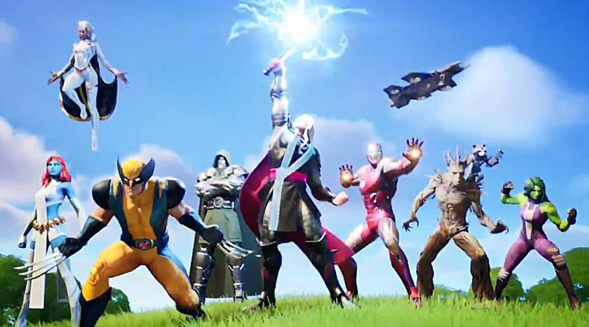 Fortnite Chapter 2 Season 4 All You Need To Know About Marvel Characters And New Updates Technology News The Indian Express