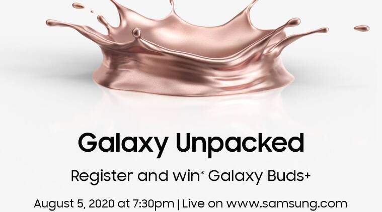 samsung unpacked 2020, galaxy unpacked 2020, galaxy note 20, galaxy fold 2, galaxy buds live, galaxy watch 3, samsung