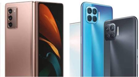 oppo f17 pro, oppo f17 launch, galaxy z fold 2 launch, redmi 9 a launch, realme 7 series launch, realme x7 series launch, smartphone launches this week, upcoming smartphones 2020