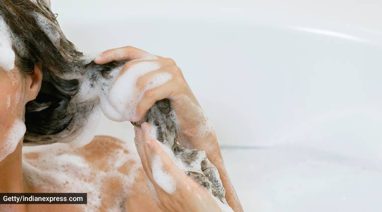how to effective wash your hair, washing your hair with shampoo, shampooing and conditioning the hair, indian express, indian express news
