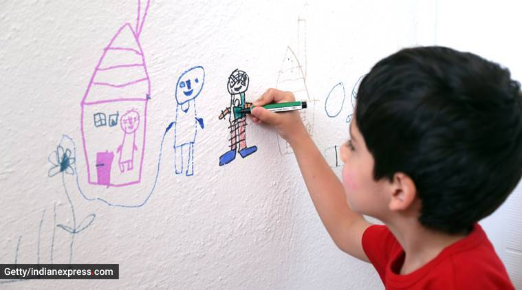 art, art and craft for kids, art for a child's emotional and cognitive development, parenting blogs, parenting, indian express news