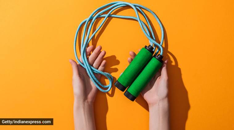 skipping session, skipping ropes, skipping for fitness, basic things to know before you begin skipping, indian express, indian express news