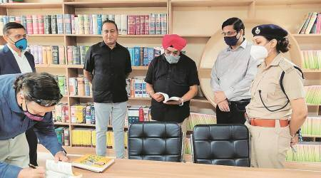 Now open in Gurgaon: A library for police personnel only