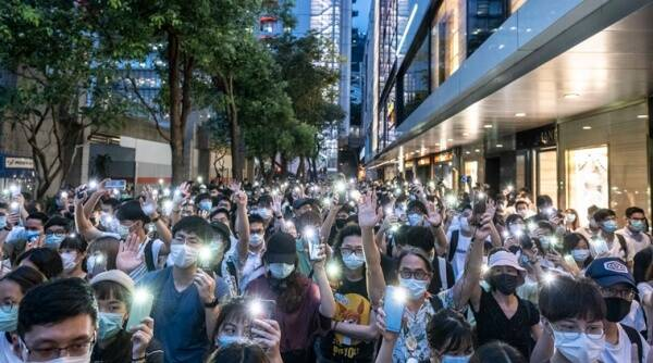 With Hacks and Cameras, Beijing's Electronic Dragnet Closes on Hong Kong