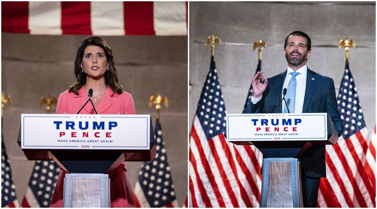 Donald Trump, Republicans, Democrats, Trump nominations, US elections 2020, Nikki Haley, world news