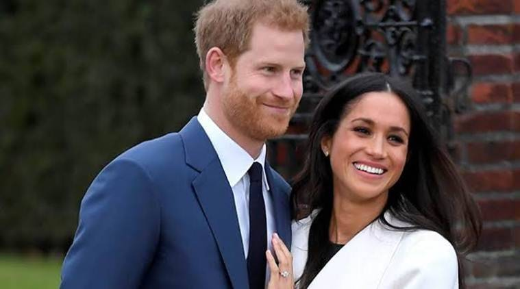 Prince Harry and Meghan Markle, the Duke and Duchess of Sussex, Harry and Meghan's dog, indian express, indian express news