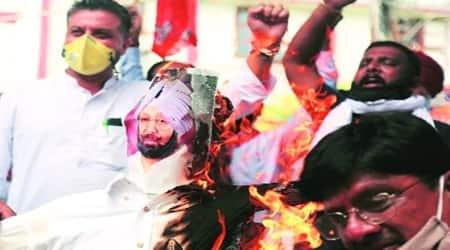 Tarn Taran, Hooch, Punjab Protest