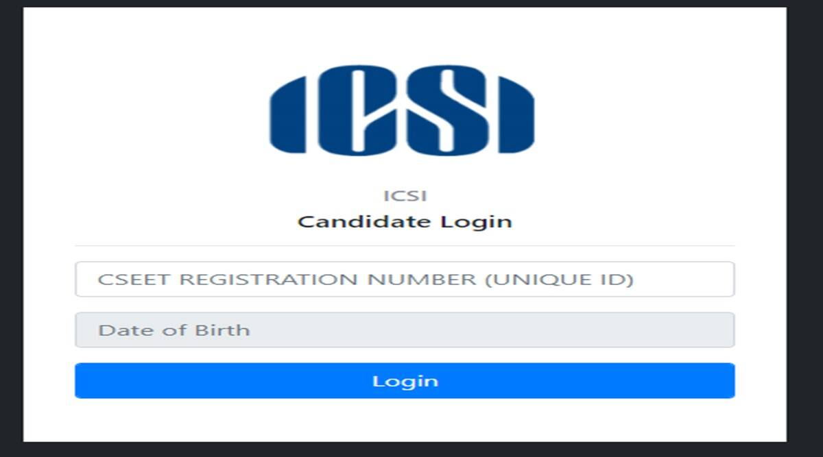 icsi admit card 2020 released steps to download