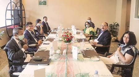 india bangladesh ties, india bangladesh meeting, foreign secretary harsh vardhan shringla meets sheikh hasina, BSF killings, Sheikh Hasina, india bangladesh border, bangladesh border killings BSF, indian express news