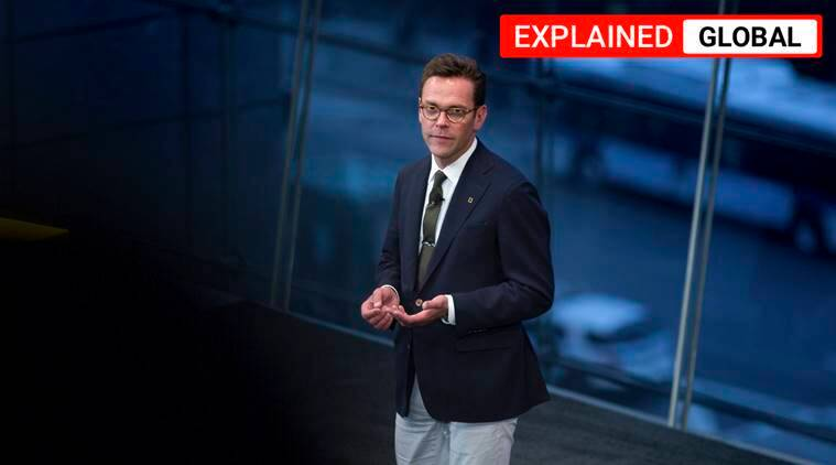 James Murdoch resigns, James Murdoch, Rupert Murdoch, Lachlan murdoch, news corp, fox media, Rupert Murdoch sons, Rupert Murdoch family, indian express, express explained